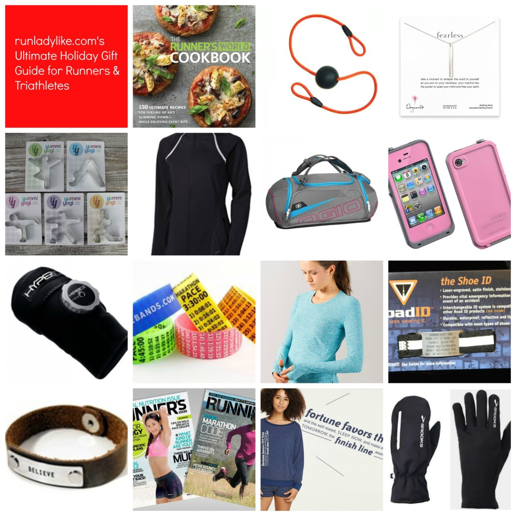 runladylike.com's ultimate holiday gift guide for runners and triathletes