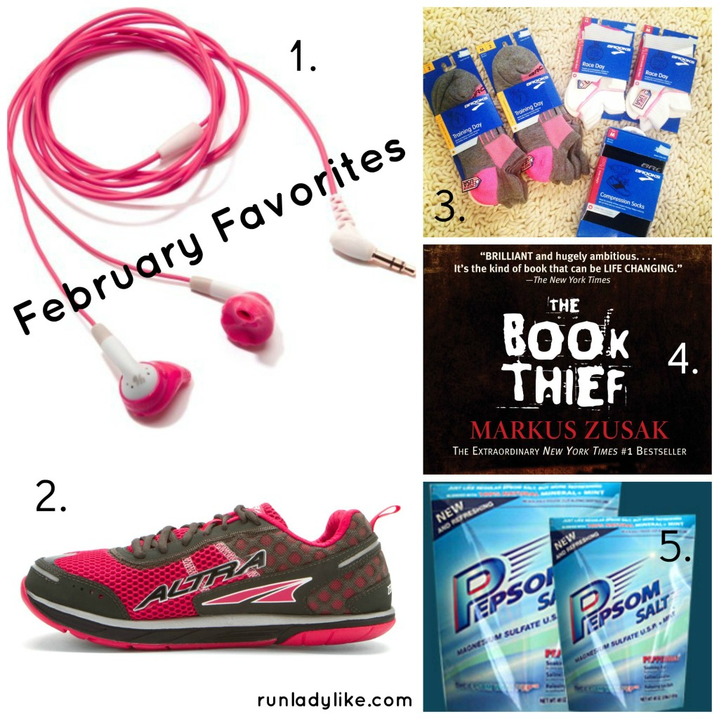 February Fitness Favorites on runladylike.com