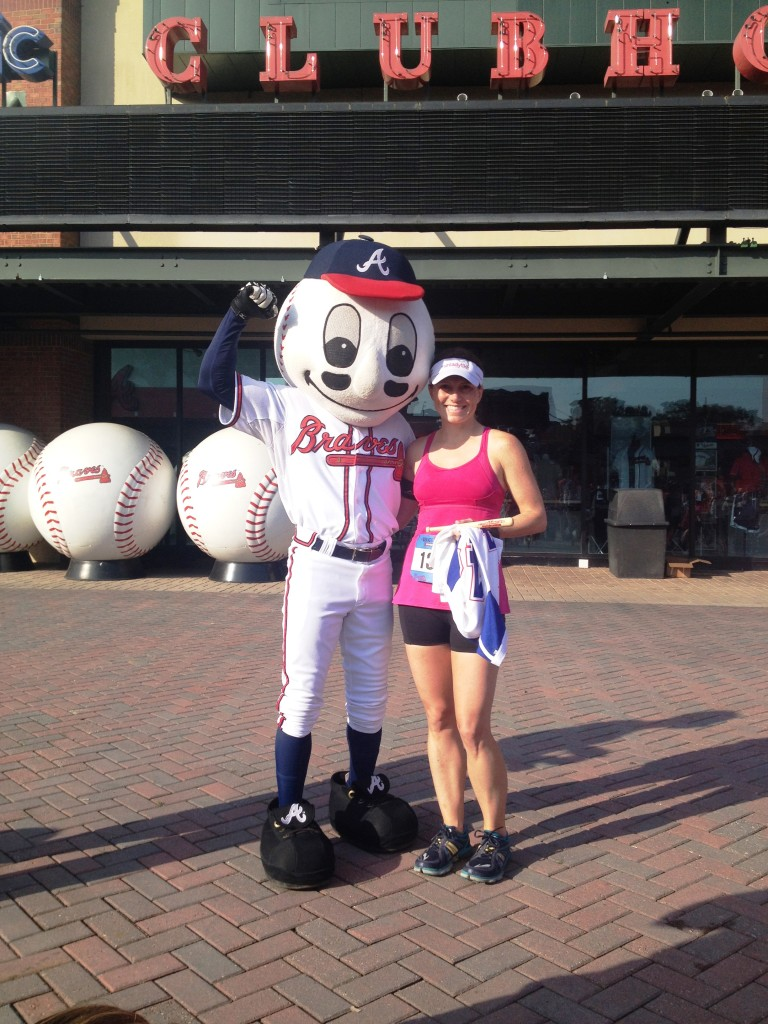 Braves Country 5K race recap on runladylike.com