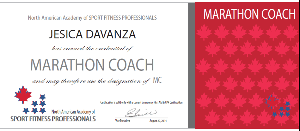 Naasfp Marathon Coaching Certification Review And Advice