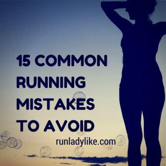 15 Common Running Mistakes compressed