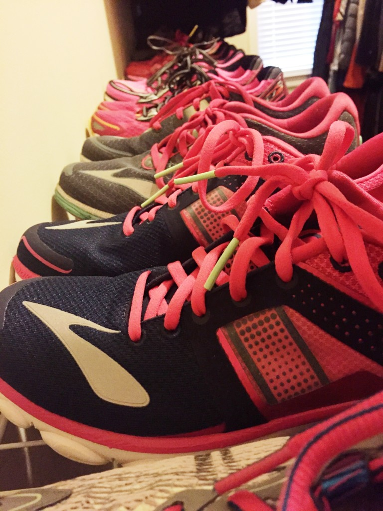 Shoes Avoid Washing In A Machine How To Care For And Declutter Your Running Gear Runladylike