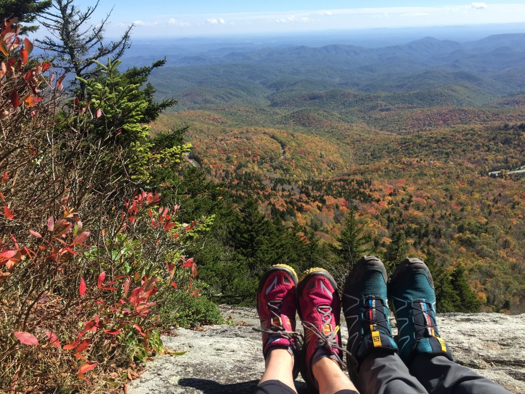 Hiking in North Carolina Mountains