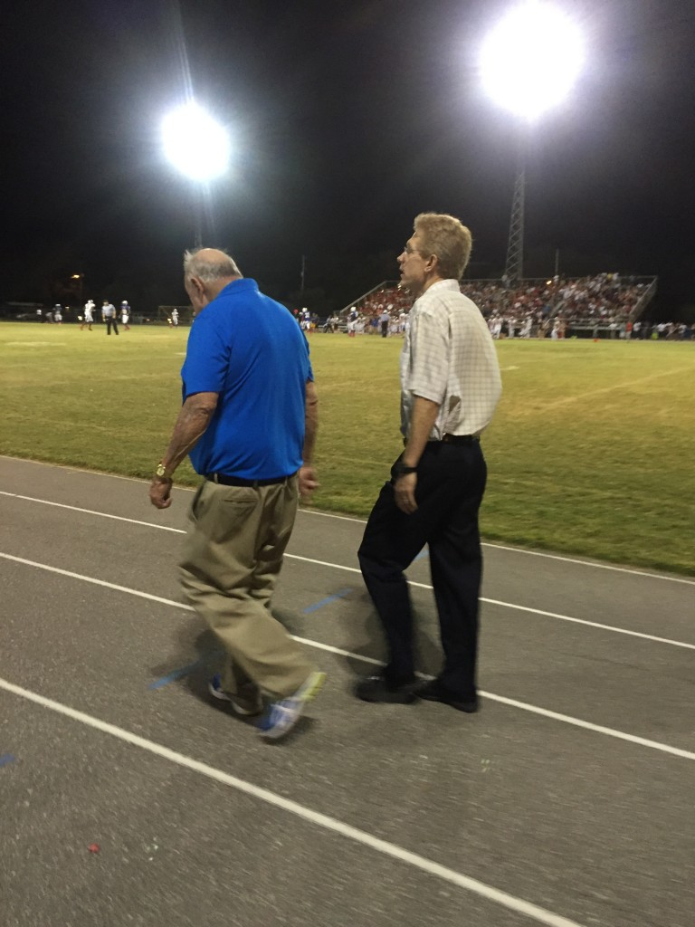 Wes Koenig and Coach Brent Haley
