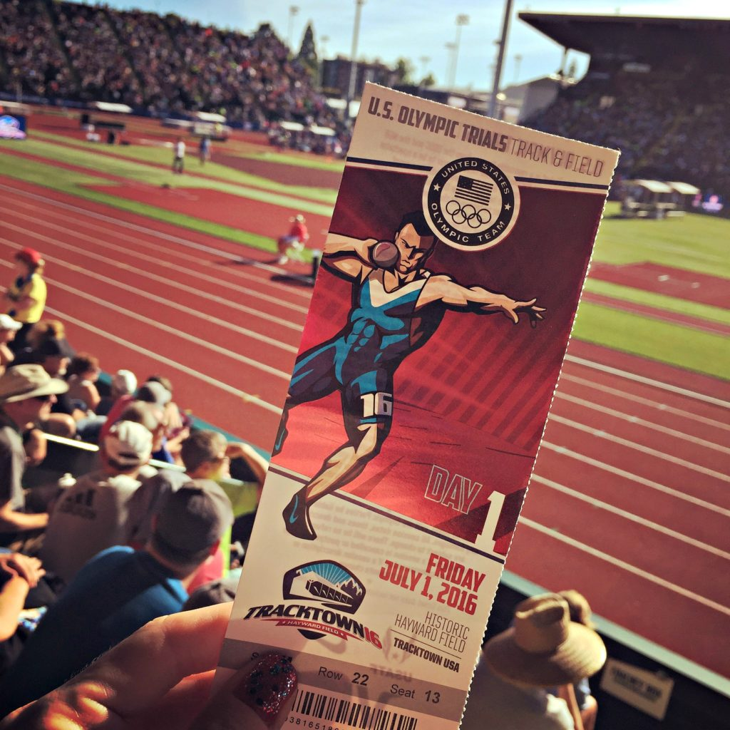 Olympic Track Trials with Brooks Running on runladylike.com