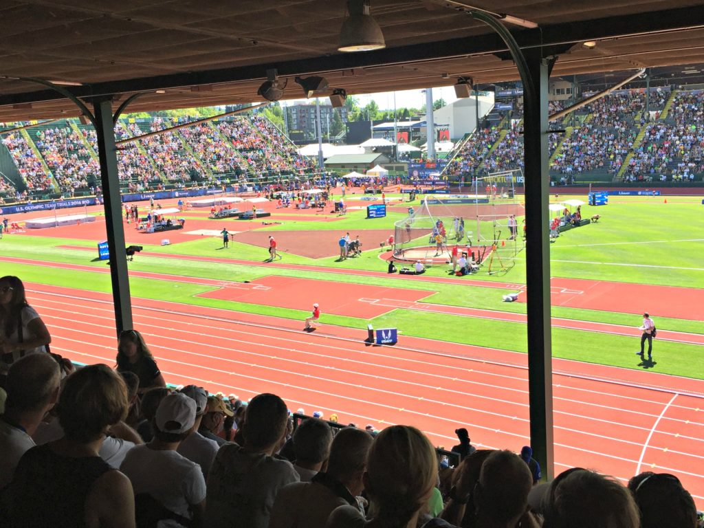 2016 Olympic Track Trials with Brooks Running
