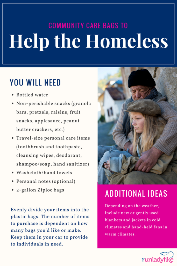 12 months of kindness project helping the homeless february 2018