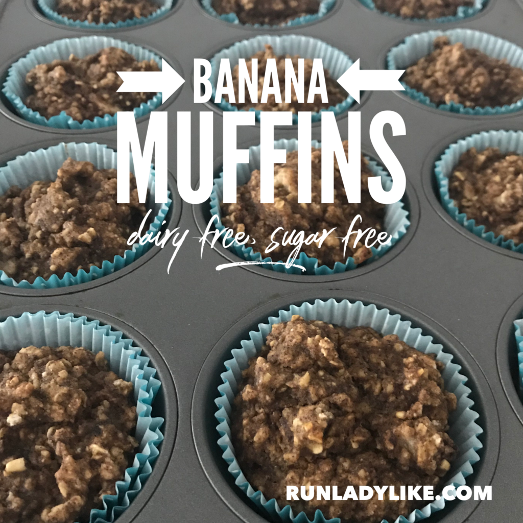 Banana Muffins For Kids And Runners Dairy And Sugar Free Runladylike